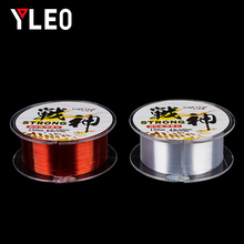 YLEO Best Monofilament Nylon Fishing Line 150m Japan Material Accessories  Fluorocarbon Coating