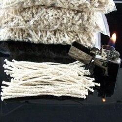 30 sztuk/worek drut miedziany bawełniany rdzeń knot nadaje się do Zippo zapalniczka naftowa akcesoria zapalniczka benzynowa podpalaczka Replaceme