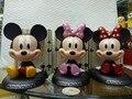Mickey Mouse y el Pato Donald Minnie Mouse Figura de Acción 1/8 escala pintado la figura de Mickey Mouse Muñeca PVC ACGN figura Juguetes Anime
