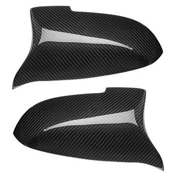 Serat Karbon Side Cermin Penutup M Kinerja Cocok untuk BMW F10 F07 F06