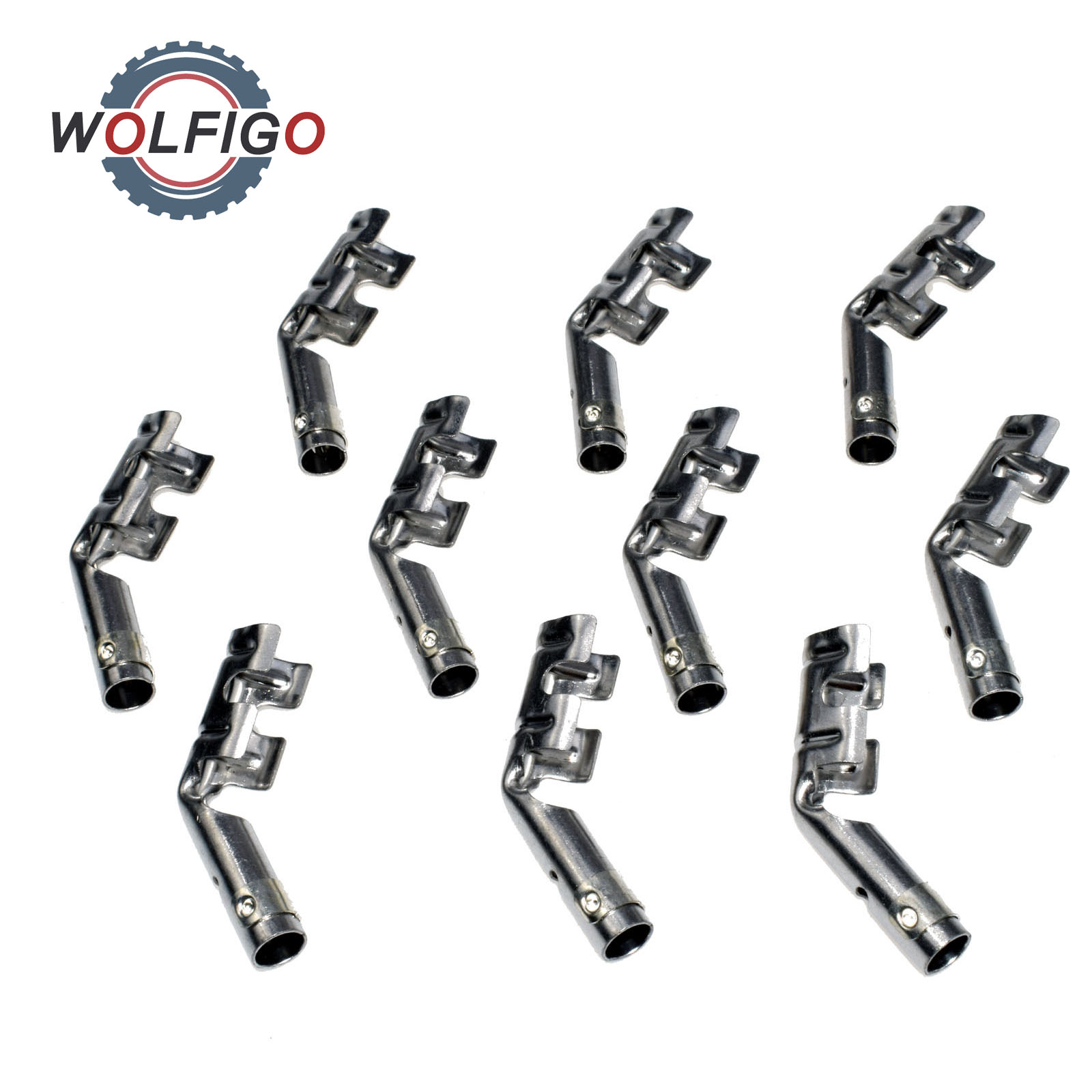 WOLFIGO New 10 Pcs Set of MSD 34605 Dual Band Spark Plug