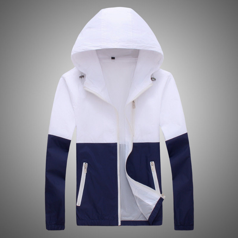 Jacket Women Windbreaker Autumn Women's Jacket Coat Hooded Female Jacket Fashion Men Ladies Thin Basic Jackets For Women