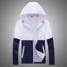 Jacket Women Windbreaker 2017 Spring Women's Jacket Coat Hooded Female Jacket Fashion Men Thin Jackets For Women