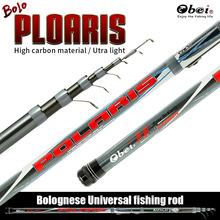 Carbon float Bolo Telescopic Transportable Journey Extremely Gentle Bolognese Fishing Rod ul tenkara Sea pole Rods Obei fishing deal with