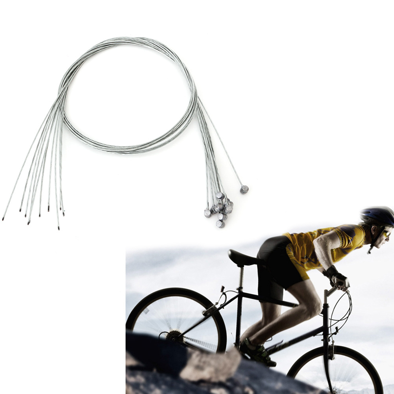 5Pcs Road Bike MTB Gear Bicycle Brake Line Shifter Core Inner Cable Wire