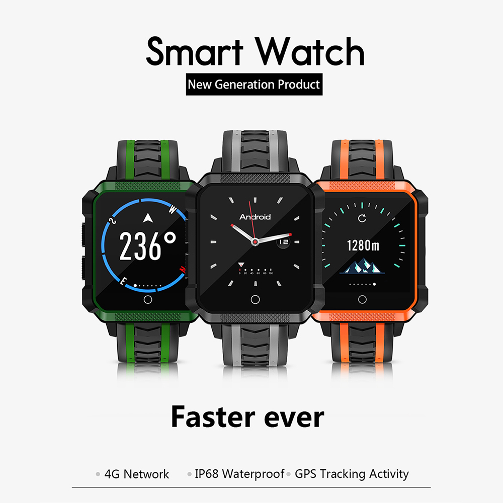 H7 Astuto Del Telefono Della Vigilanza 4g Android 6.0 1g + 8g WiFi GPS SIM Sport Smartwatch 5.0 MP macchina fotografica Voce Tradurre Orologio Da Polso Degli Uomini Delle Donne