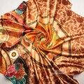 90 cm * 90 cm Moda Grade Designer Britânico Plaid Chiffon Cachecol Roubou Xaile do Envoltório Cachecóis Feminino Das Mulheres Marca De Luxo das mulheres da forma