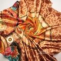 90cm*90cm Fashion Grid Designer British Chiffon Plaid Scarf Women Luxury Brand Stole Shawl Female Wrap Scarfs fashion women