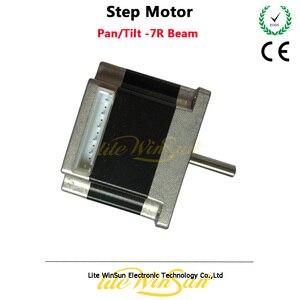 Image 4 - Litewinsune 2pcs Free Ship Step Motor XY Axis Pan Tilt Sharp Beam R7 230W Moving Head Lighting Accessory