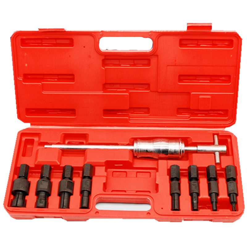9pc Blind Hole Slide Hammer Pilot Bearing Internal External Remover Puller Set