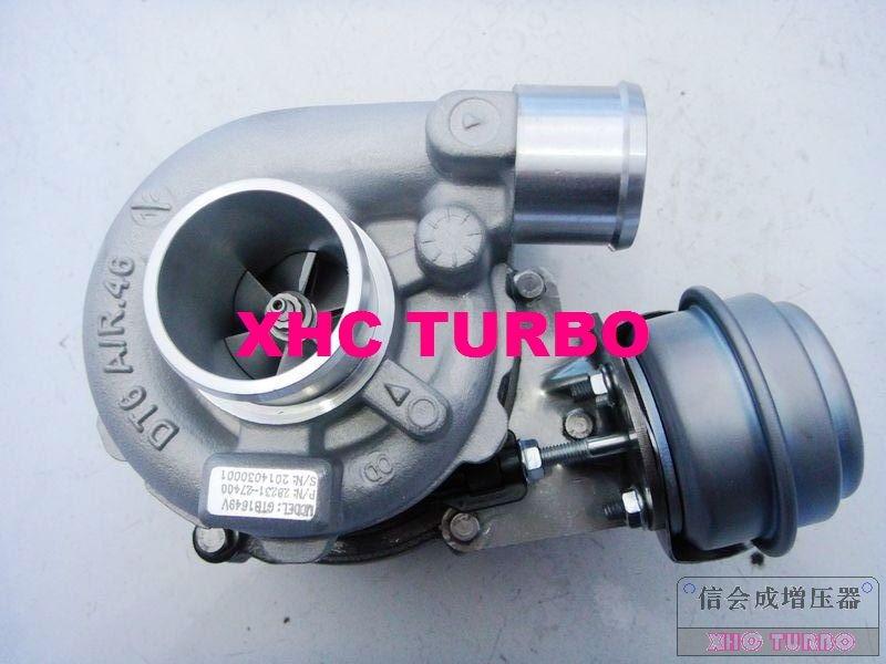 NUEVO GT1649V / 757886 28231-27400 Turbo Turbocompresor para HYUNDAI - Autopartes