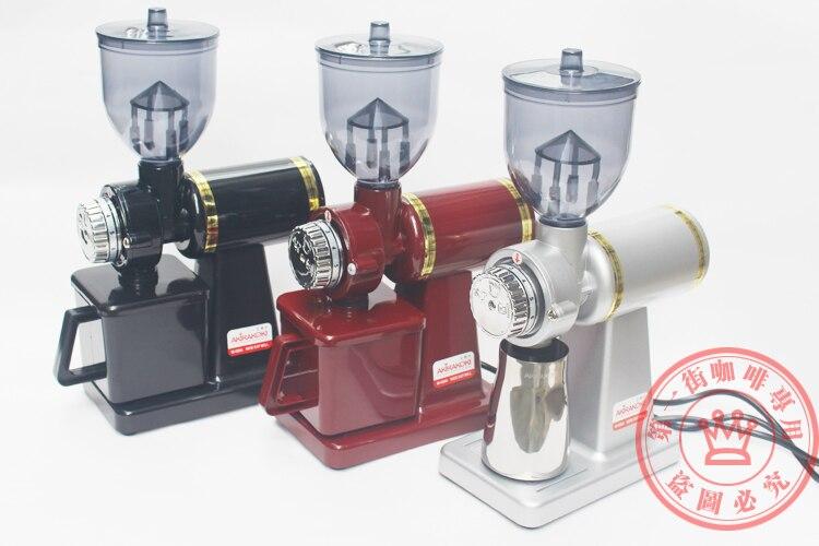 все цены на  1pc M520-A Electric half pound coffee beans mill grinding machine, Coffee Grinder, Bean Grinder Black/Silver/Red  онлайн