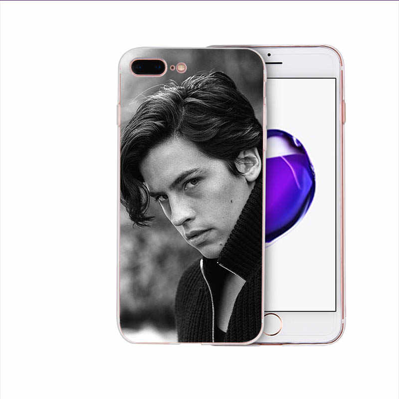 American TV Riverdale Cole Sprouse Soft silicone mobile phone case for iphone 6s 6 7 8 plus x xs xr xsmax 5 5s se TPU pop shell