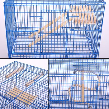 Natural Wood Bird Toys SetPlaced in The Bird Cage by Playground for Small and Medium Parrots Parakeet  Hamster Cage Pack of 4pcs 3