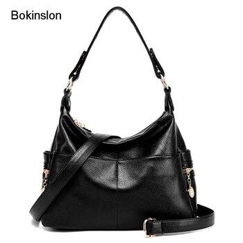 a684a4003 Bokinslon Mujer Crossbody Bolsos de Cuero de LA PU Elegantes bolsos de Los Bolsos  de Las