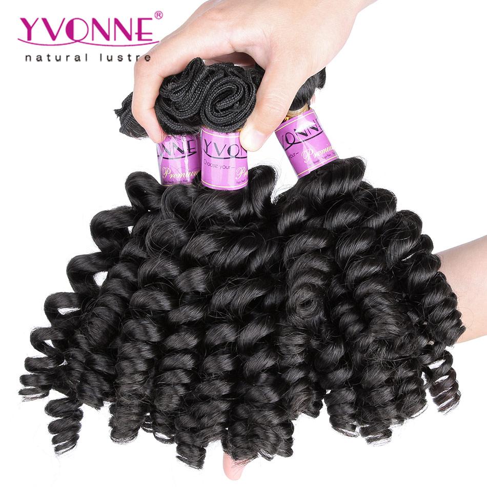 3 Bundles Unprocessed Curly Virgin HairTight Curl Fumi