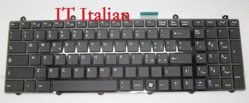 Laptop Keyboard for MSI GT60 0NC 0ND 0NE 0NF 0NG 2OC 2OD 2OJ 2OK 2PC 2PE 2QD AR Arabic BE Belgium CZ Czech HB Hebrew KR Korean laptop keyboard for acer silver without frame arabic ar v 121646cs2 ar aezqsq00110