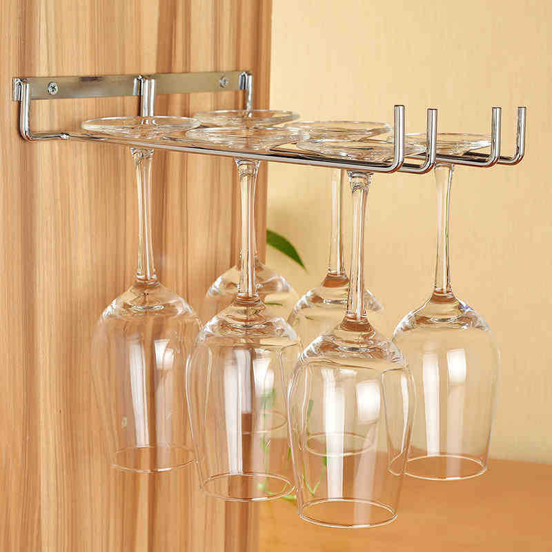 Achetez en gros vin en verre tag re murale en ligne des grossistes vin en verre tag re - Bar de cuisine en verre ...