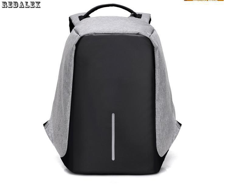2017 15 6inch Laptop Backpack Anti theft Unisex Backpack Waterproof Casual Business School Backpack Bag Large