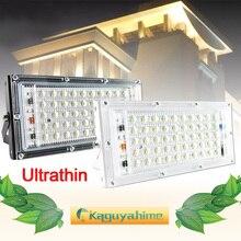 купить LED Flood Light 10W 50W real power Floodlight LED street Lamp 220V 240V waterproof Landscape outdoor Lighting IP65 led spotlight по цене 263.32 рублей
