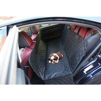 אספקת כלב חתול חיות מחמד רכב סיאט כיסוי אוניברסלי עמיד למים אוקספורד מוצרי חיות מחמד מיטת רכב מושב אחורי במכונית לחתולים כלבים אביזרי