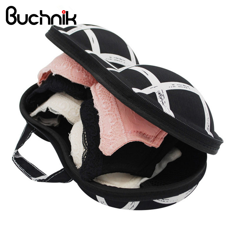 BUCHNIK Portable Women's Bra Bag Female Travel Underwear Sock Packing <font><b>Organizers</b></font> Luggage Wholesale Accessories Supplies image