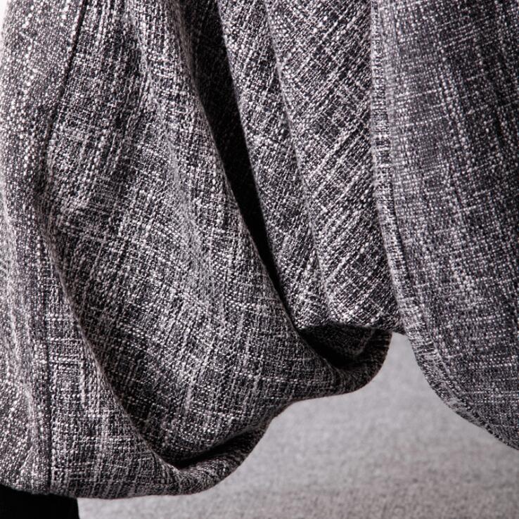 Primavera e Autunno Biancheria Slacciano Grande Casual Pantaloni Elestic Vita Harem Pantaloni Alla Caviglia Donna-in Pantaloni e pinocchietto da Abbigliamento da donna su  Gruppo 3