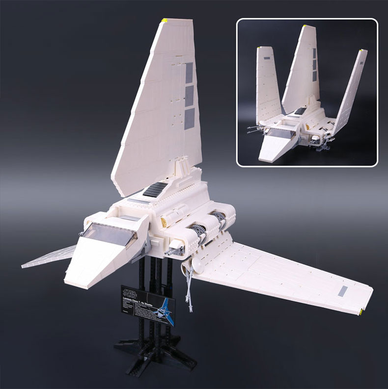 2016 New LEPIN 05034 2503Pcs Star Wars Imperial Shuttle Model Building Kit Blocks Bricks Compatible Children Toy Gift With 10212 lepin 22001 pirate ship imperial warships model building block briks toys gift 1717pcs compatible legoed 10210