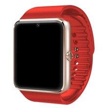 Neue Smart Verschleiß Bluetooth Smart Gesundheit Uhr Mit Sim-karte Smartwatch Für Apple Samsung Gt08 Tragbares Gerät Telefon