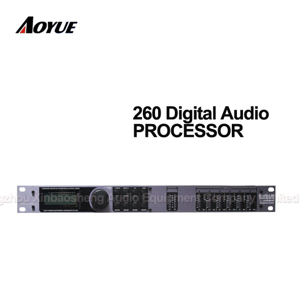 High quality DSP D-260 Style Audio speaker digital processorHigh quality DSP D-260 Style Audio speaker digital processor