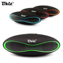 Ubit X6U Mini Portable Speaker Wireless Bluetooth Speakers FM with Strong Bass Portable Audio Player Support TF Card MP3 Music