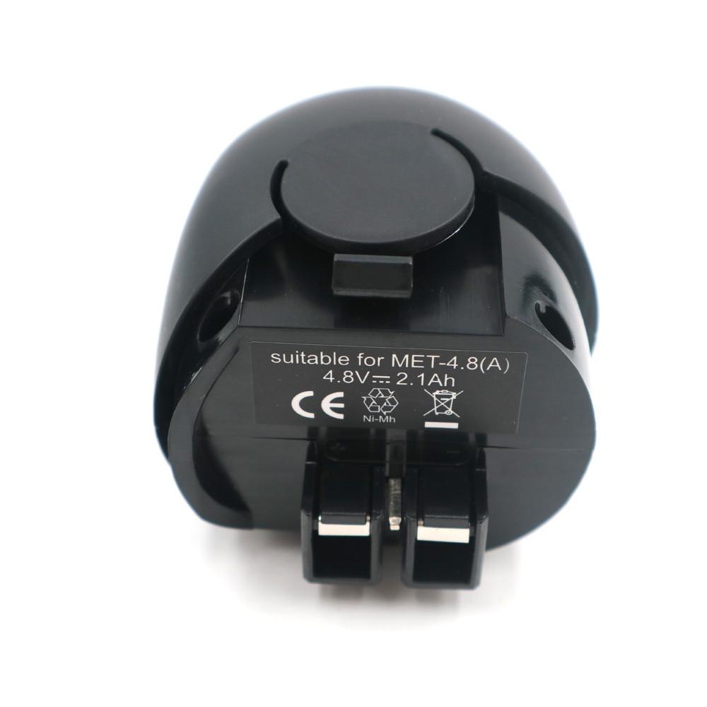 Batterie d'outils électriques, Rencontré 4.8VA 2100 mah, Ni-MH, Powermaxx, Powergrip 2, Powergrip II, powergripp lampe de Poche, 631858000,60005952