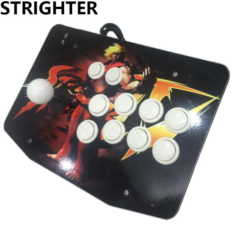 No delay KEN arcade joysticks Game Controller for computer game Street Fighters ken browne sociology for as aqa