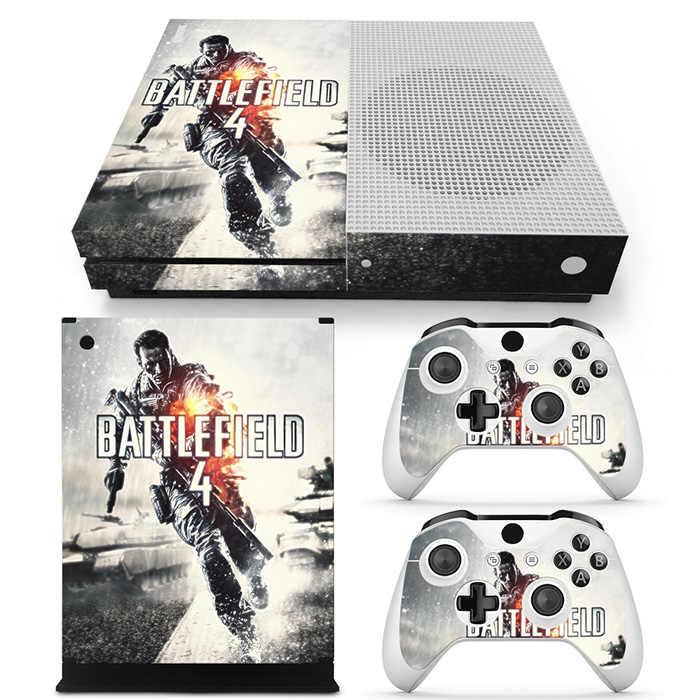 Консоли виниловая наклейка Стикеры кожи для Xbox One S с двумя Беспроводной Пульты ДУ для игровых приставок