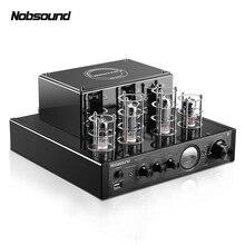 Nobsound MS-10D MP3 HiFi 2.0 Домашнее аудио Bluetooth трубки Усилители домашние Вход USB/BT/AUX Усилители для наушников 25 Вт+ 25 Вт 6P1*2+ 6N1*2 AC220V
