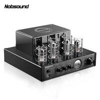 Nobsound MS-10DMKII MP3 HiFi 2.0 Accueil Audio Bluetooth Tube À Vide Amplificateur Intégré Entrée USB/AUX Amplificateur de Puissance 6P1*2 + 6N1*2