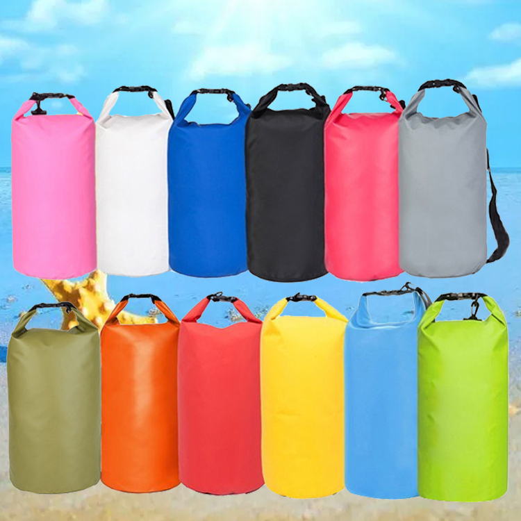 Outdoor swimming Waterproof Bag Camping Rafting Storage Dry Bag with Adjustable Strap