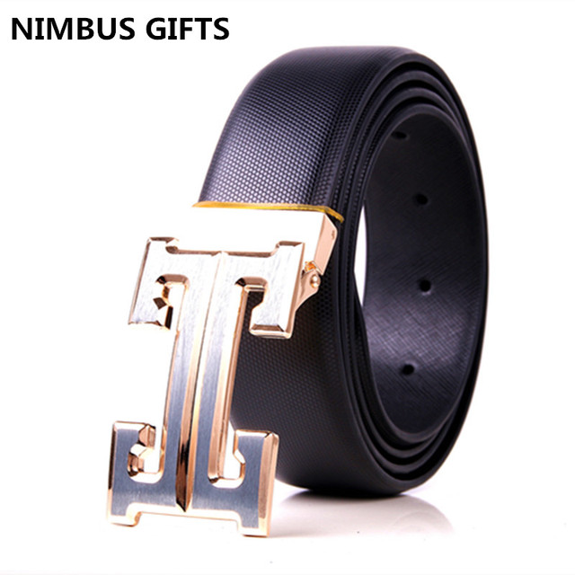 men's h buckle belt new hot sell classic luxury Belts Business casual  fashion Genuine Leather belt