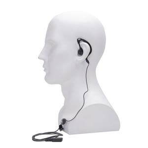 Image 3 - 5 pçs walkie talkie fone de ouvido 2pin ptt eadset para kenwood baofeng UV 5R BF 888S retevis h777 rt7 para quansheng para puxing