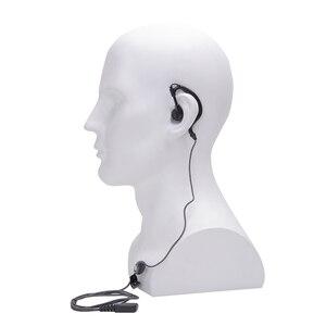 Image 3 - 5 pièces talkie walkie casque écouteur 2pin PTT eadset pour KENWOOD BAOFENG UV 5R BF 888S chape H777 RT7 pour QUANSHENG pour PUXING
