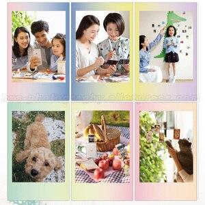 Image 2 - Originale Fujifilm Fuji Instax Mini 9 Pellicola Macaron 10 Lenzuola Per Mini 9 8 7s 90 70 25 Istante macchina fotografica di Condividere SP1 SP2 Liplay Stampante