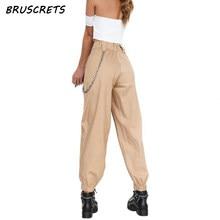 0636b4167b Pantalones de cintura alta negro camuflaje loose joggers mujeres ejército  camo pantalones punk pantalones capris para mujeres pa.