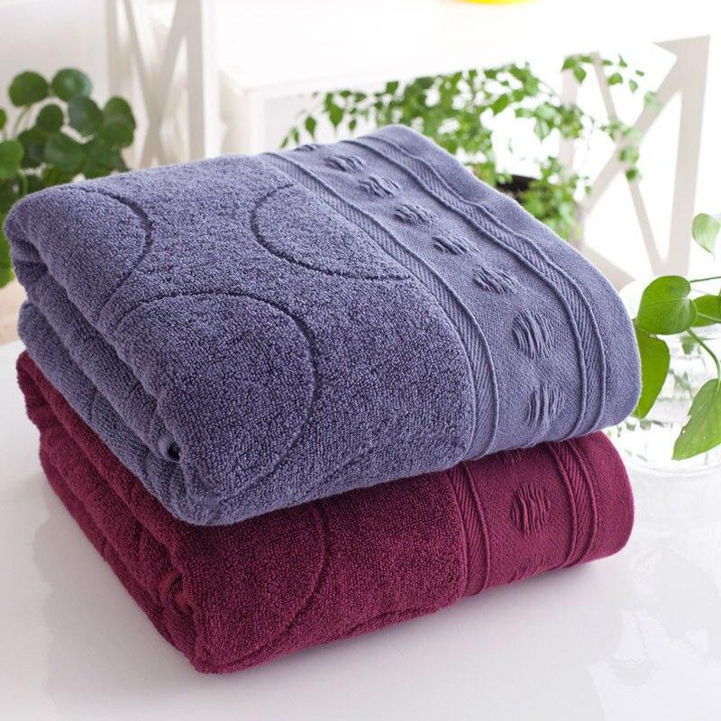 cheap quality towels washcloths 70140cm large beach towels cotton adult thick jacquard towels designs luxury hotel bath towels - Large Beach Towels