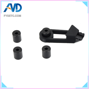 Solid Spacer With Y axis Wire Retrain CR-10 Aluminum Solid Bed Mount Strain Relief Bracket For CR-10/ CR10S 3D Printer Parts