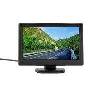 New 5 800 480 No 320 240 Car TFT LCD Monitor Screen 2ch Video Monitor Car
