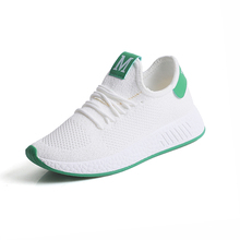 White Women Walking Shoes Life Breathable Mesh Shoes Sneakers Trekking Shoes Lace-up Non-slip Sports Shoes For Female Tmallfs