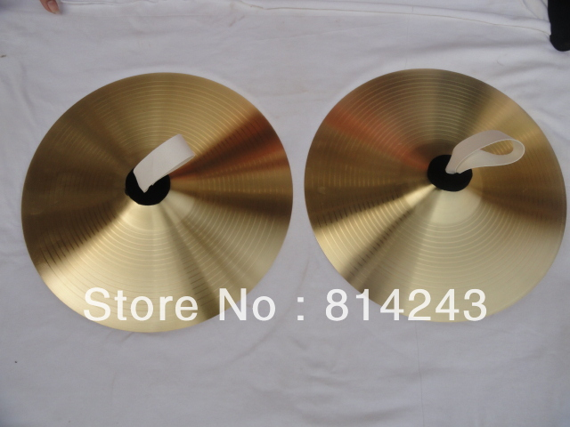 16 Inch Traditional China Cymbals 40cm In Diameter Thickness 1mm Professional Musical Instruments high quality b20 cymbals dragon 16 o zone china
