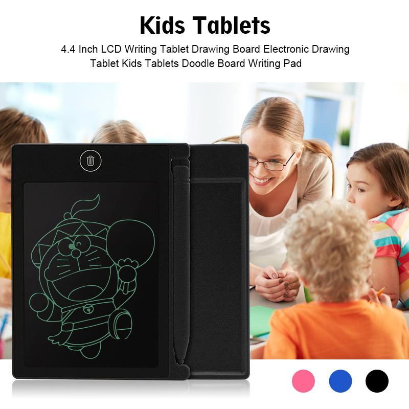 None 4.4 Inch LCD Writing Tablet Drawing Board Electronic Drawing Tablet Kids Tablets Doodle Board Writing Pad