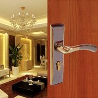 High Quality Door Lock Bedroom Door Interior Room Door Solid Wood Gate Locks Door Handle Simple