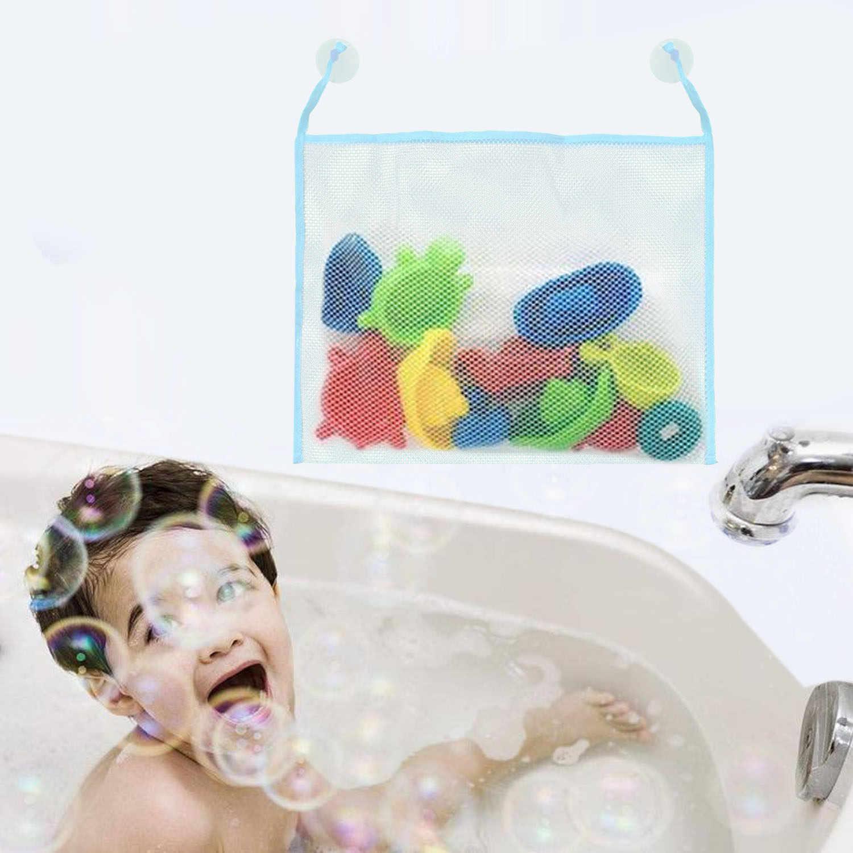 Behogar сетчатый держатель для игрушек ванной органайзер сетка хранения подвесная
